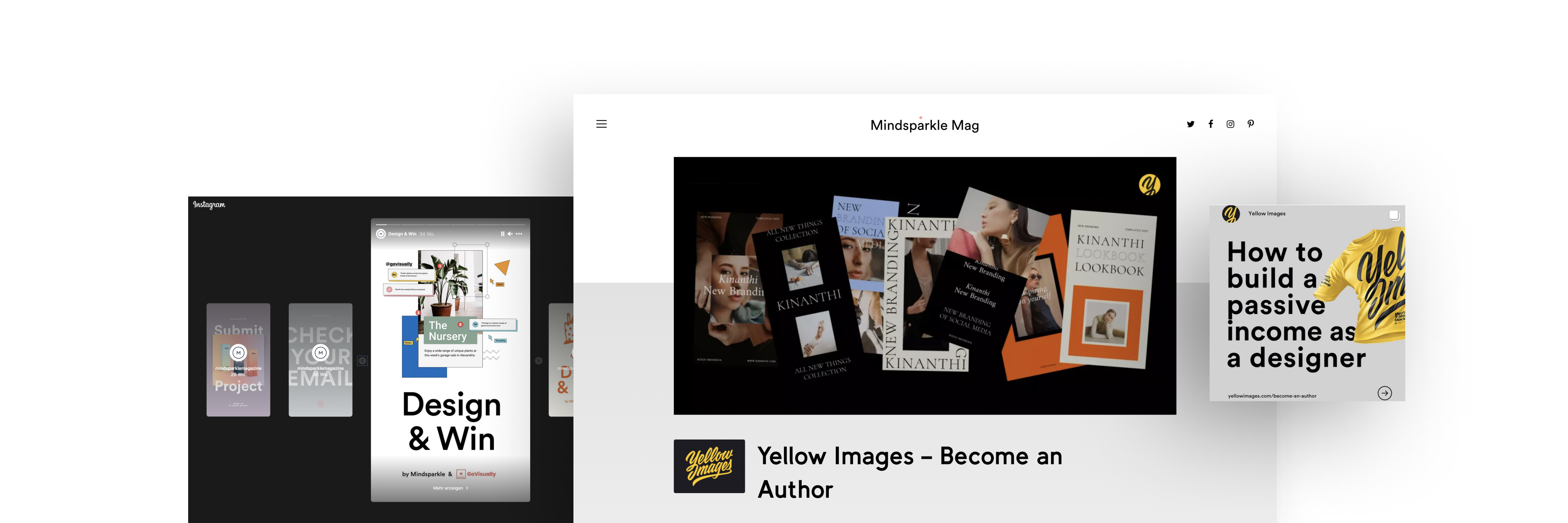 Advertise on Mindsparkle Mag and get access to a worldwide creative design demographic. We offer sponsored content & display advertising as well as brand partnerships.