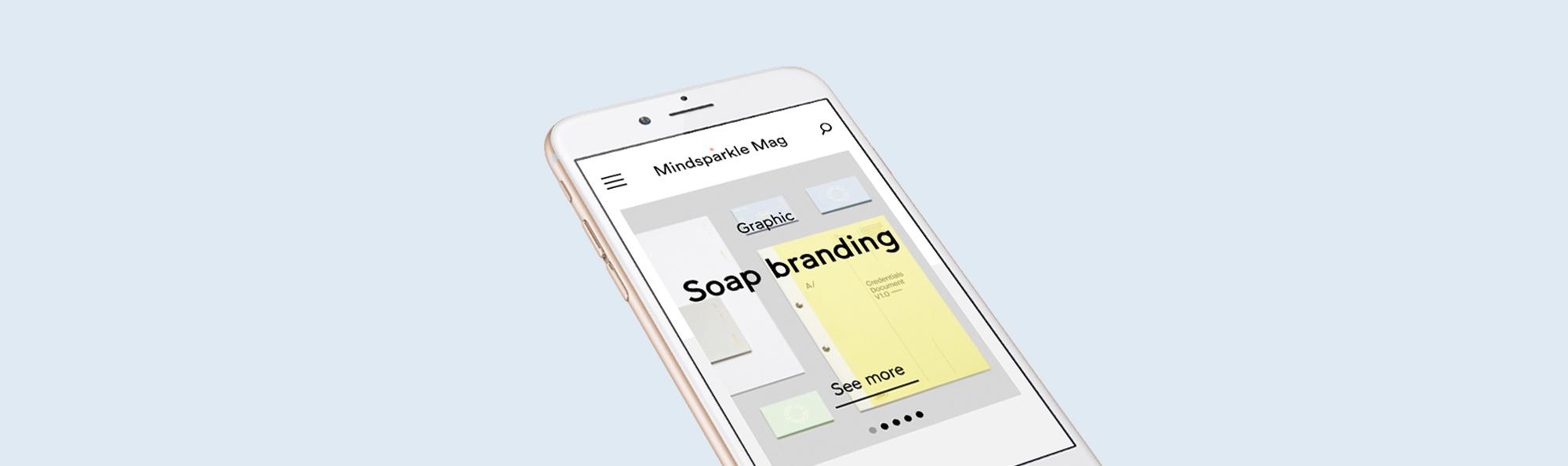 new mindsparkle mag mobile optimised designblog webdesign websites video www.mindsparklemag.com inspiration