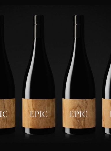 Epic wooden wine label - Mindsparkle Mag