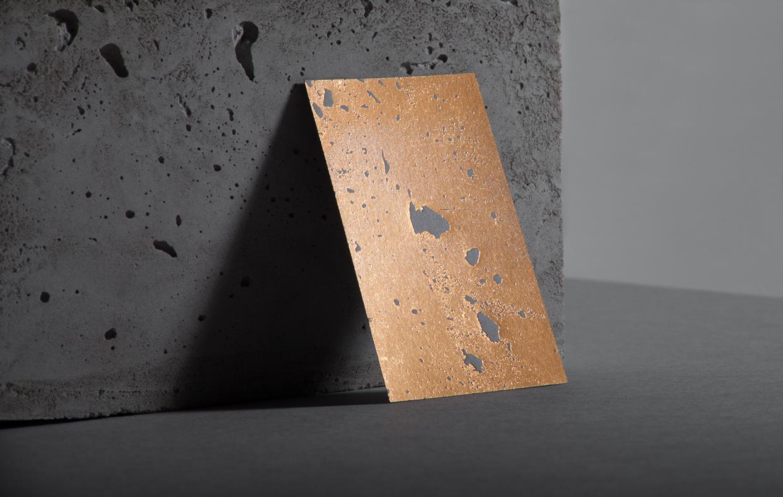 Golden concrete architect business card mindsparkle mag magicingreecefo Images