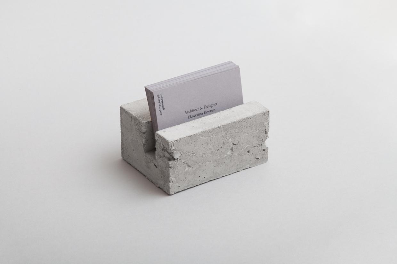 Golden concrete architect business card mindsparkle mag pin magicingreecefo Images