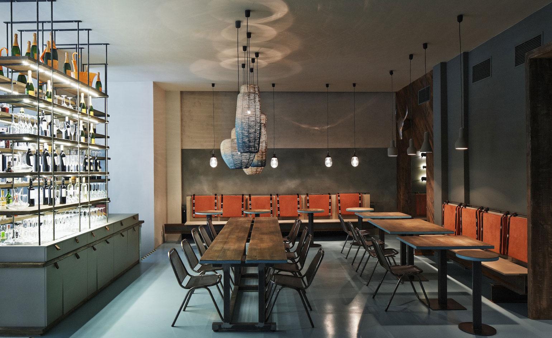 Gran fierro restaurant mindsparkle mag for Restaurant interior design inspiration