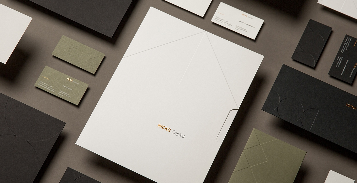 Hicks Identity System Stationery Mindsparkle Mag