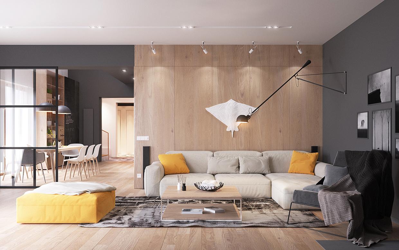 Minimal scandinavian house kolodishchi mindsparkle mag for Minimal room ideas