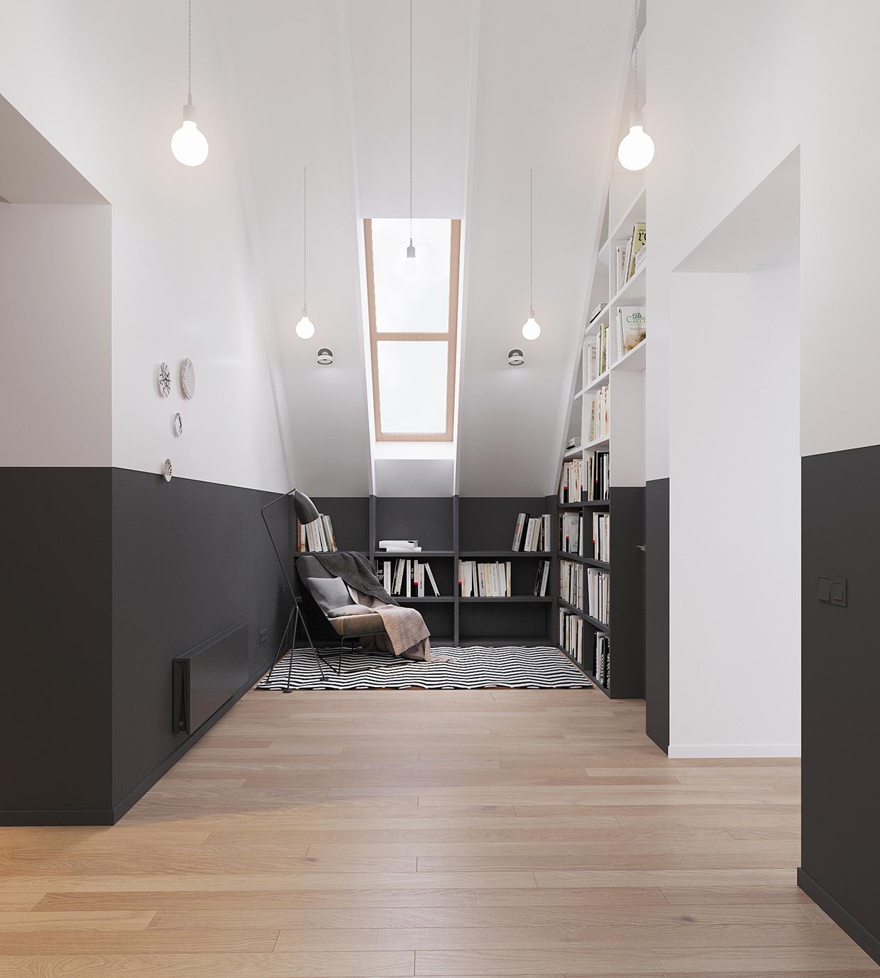 Finnish Design House: Minimal Scandinavian House Kolodishchi
