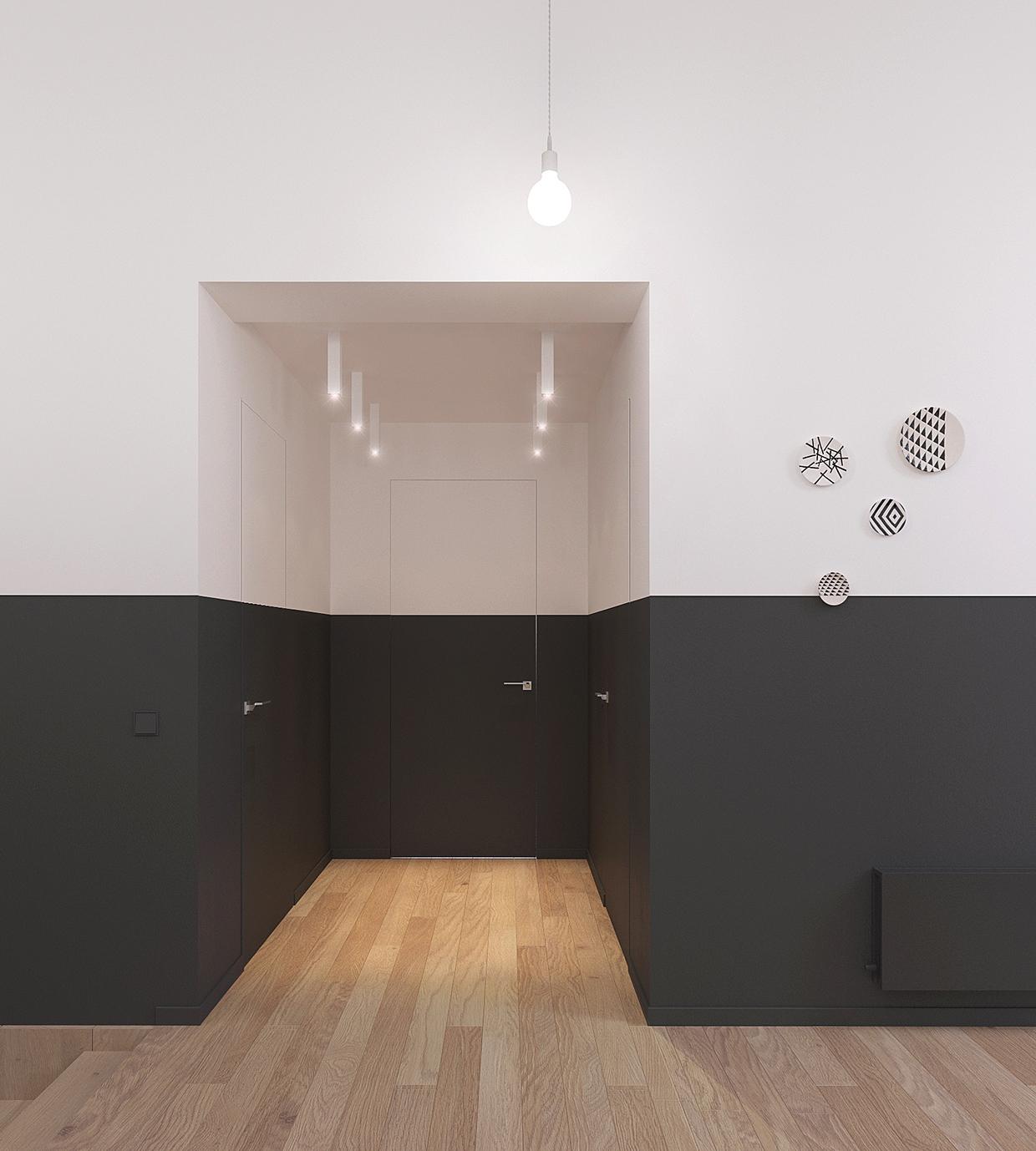 Minimal scandinavian house kolodishchi mindsparkle mag for Scandinavian interior design inspiration