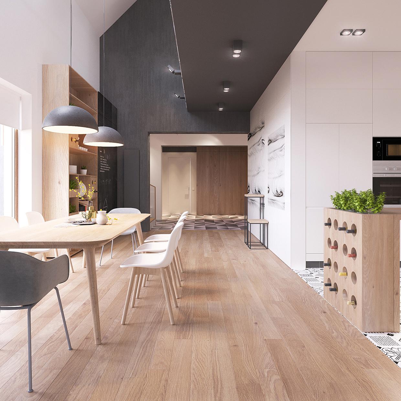 Inspirations Ideas Interior Decorating Ideas 10 Stylish: Minimal Scandinavian House Kolodishchi
