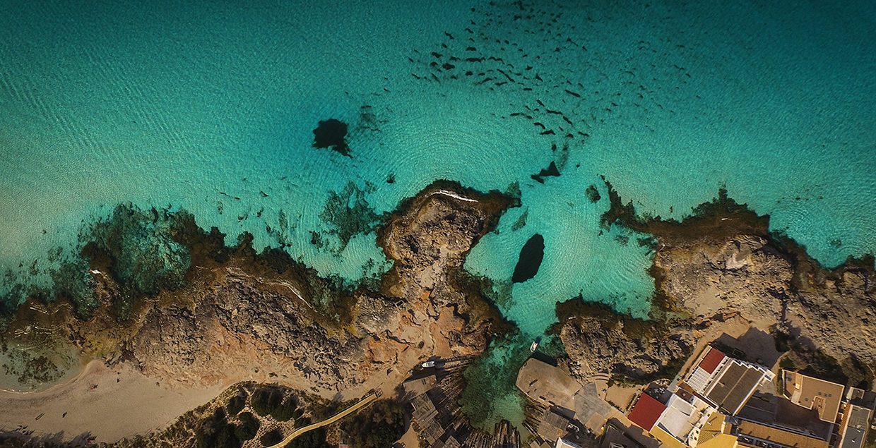 Formentera Drone Footage From Above