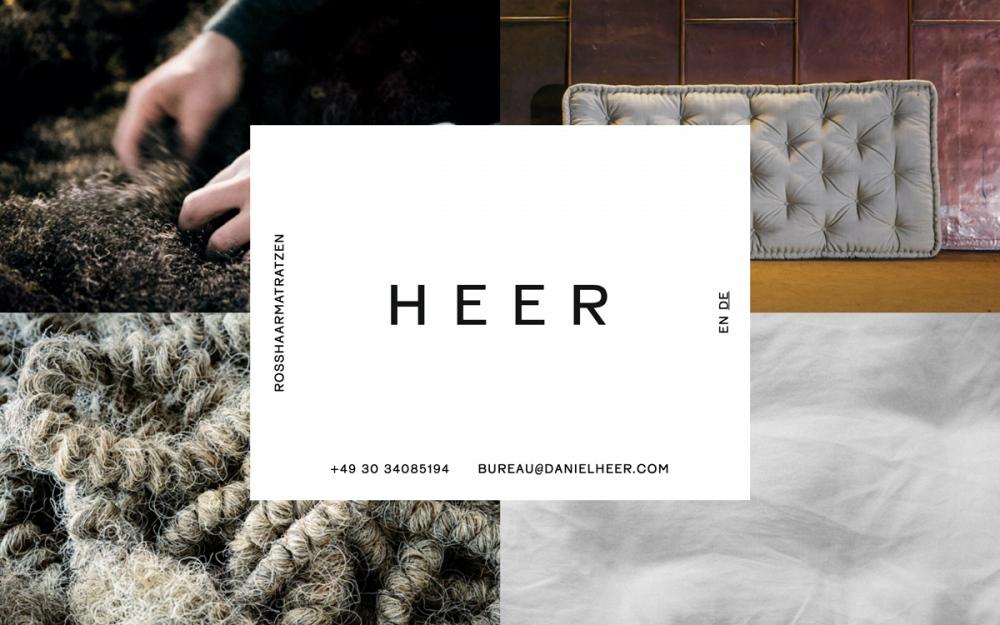 daniel heer webdesign website of the day beautiful minimal portfolio mindsparkle mag designblog
