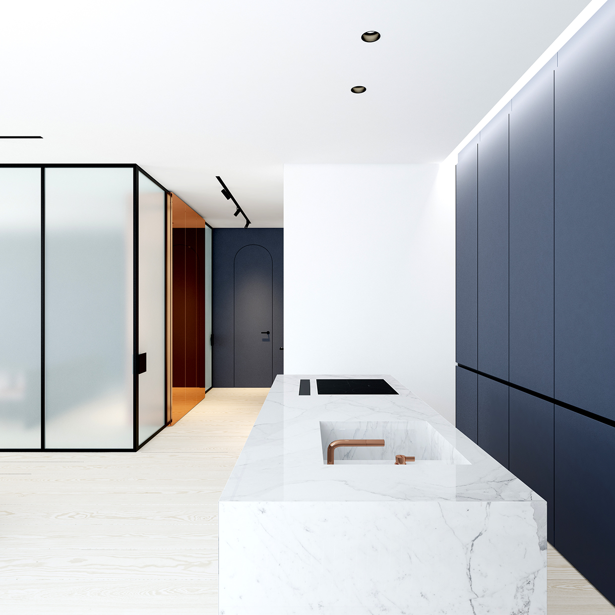 Fontan b luxury apartment mindsparkle mag for Design minimal