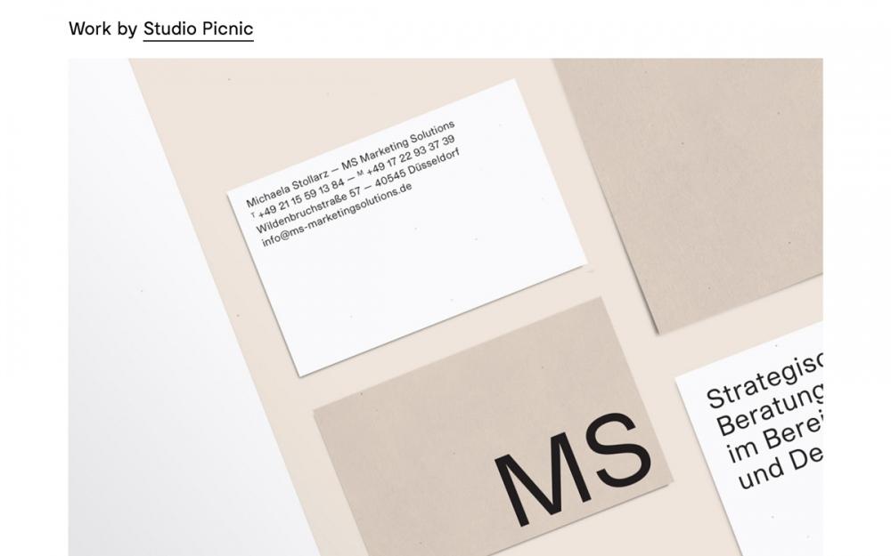 Studio Picnic by Eloy Kruijntjens Maastricht Netherlands beautiful webdesign website minimal portfolio mindsparkle mag designblog