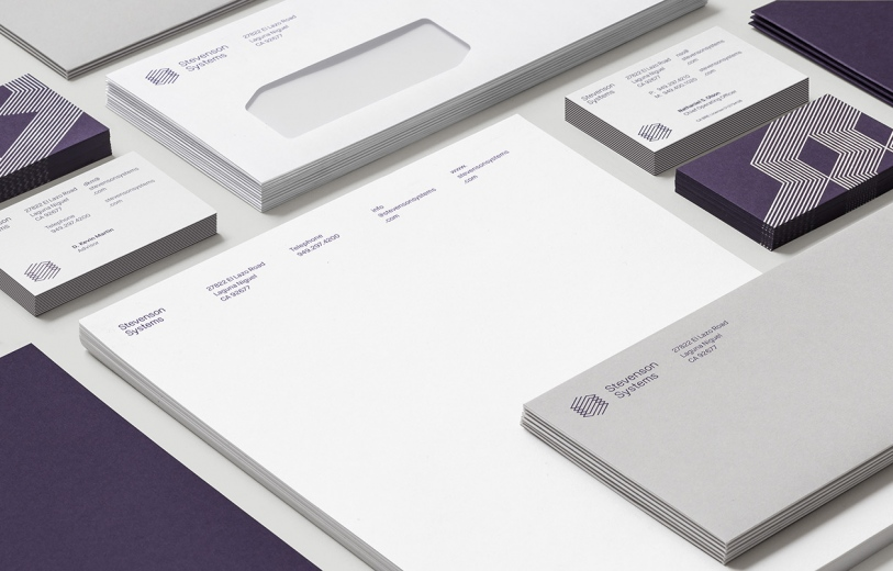 Stevenson Systems branding graphic design socio design london minimal mindsparkle mag