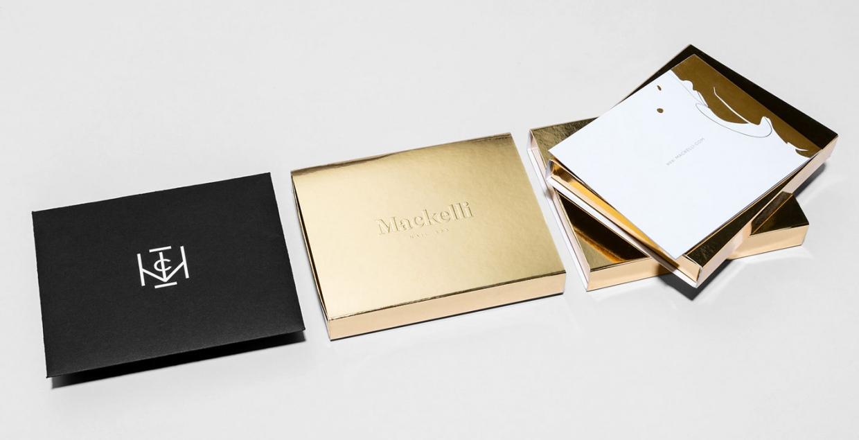 mackelli nail spa branding gold minimal La Tortilleria monterrey mexico mindsparkle mag design best