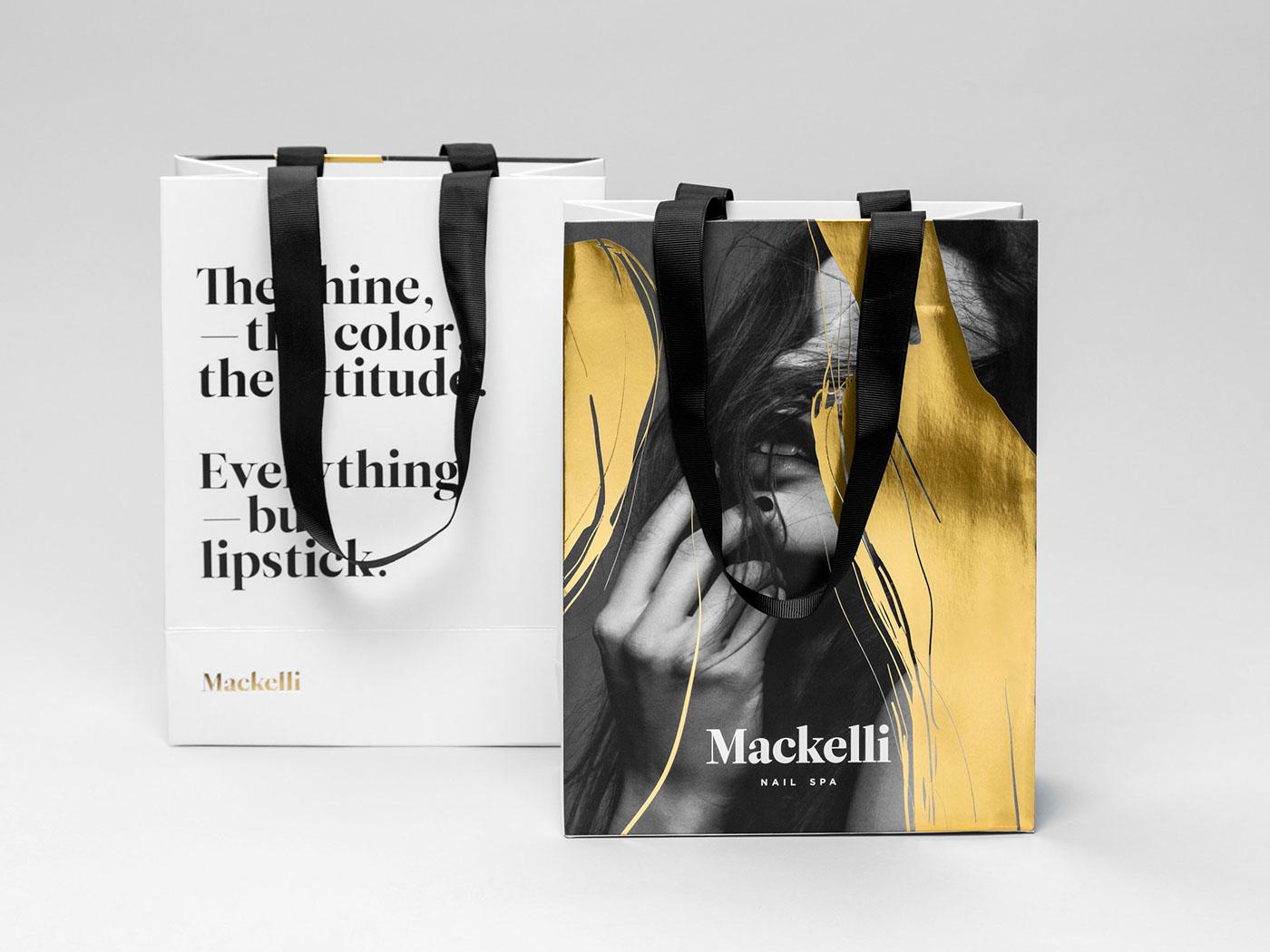 Mackelli Nail Spa branding - Mindsparkle Mag
