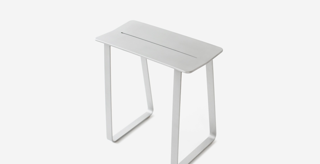 pausma design stool aluminium minimal beautiful new zealand mindsparkle mag