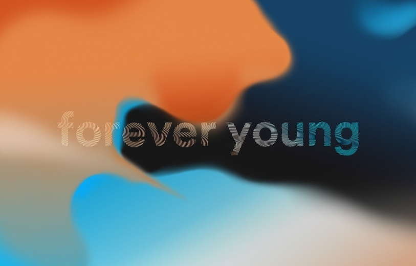 Droga5 forever young branding logomodern fading color colorful beauty beautiful new mindsparkle mag