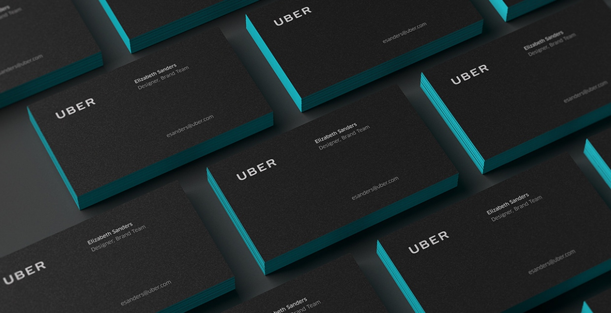 Uber redesign branding logo logotype new corporate design mindsparkle mag