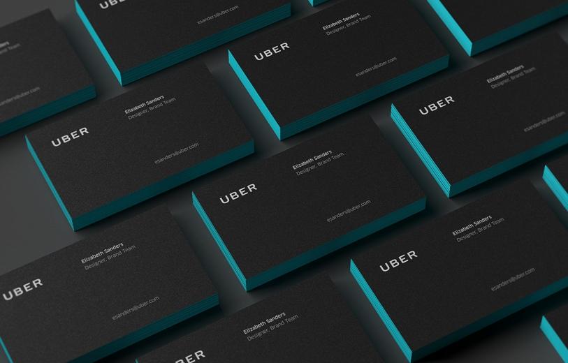 Uber redesign branding logo logotype new corporate design mindsparkle mag