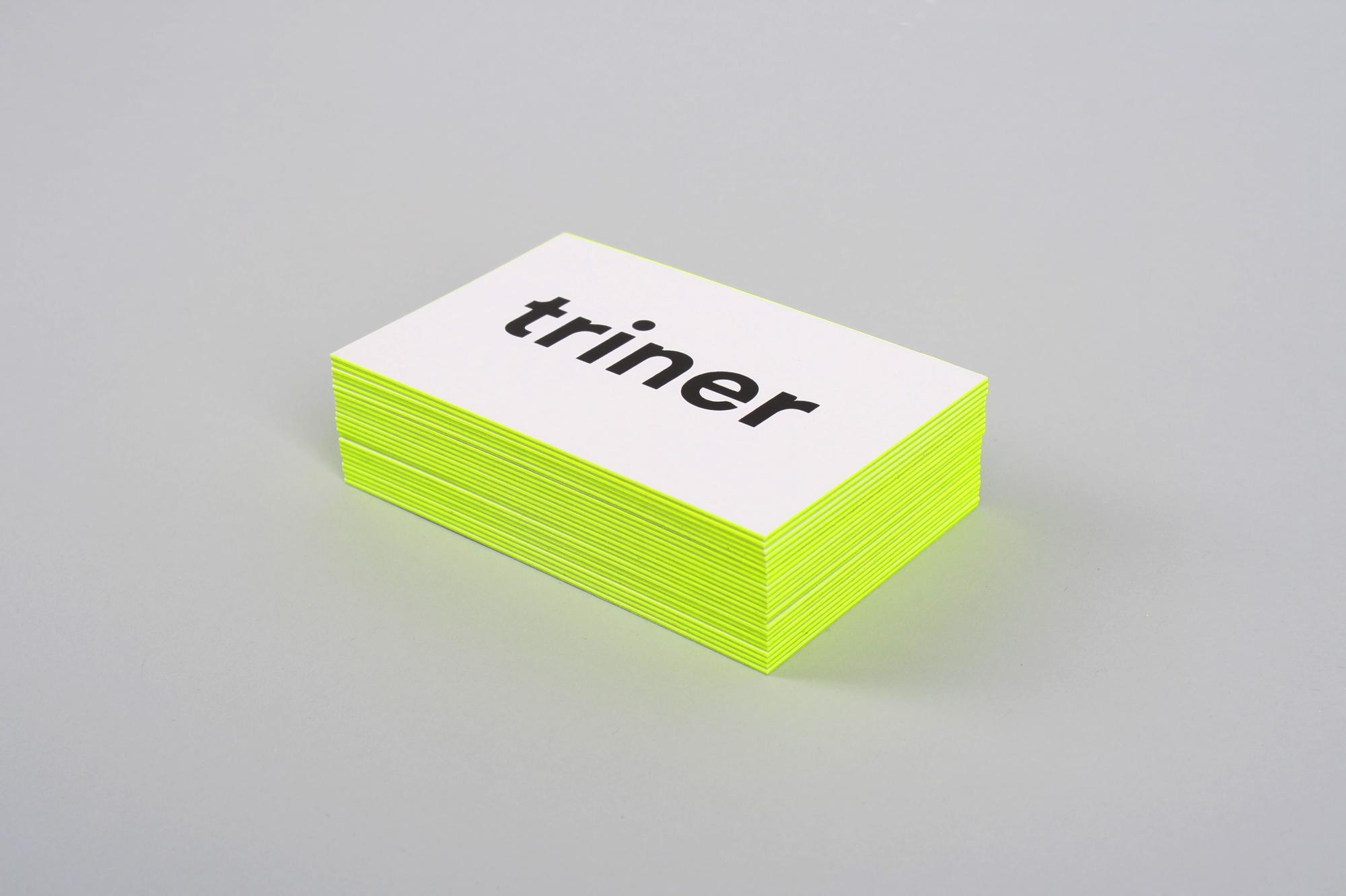 Filip Triner business cards - Mindsparkle Mag