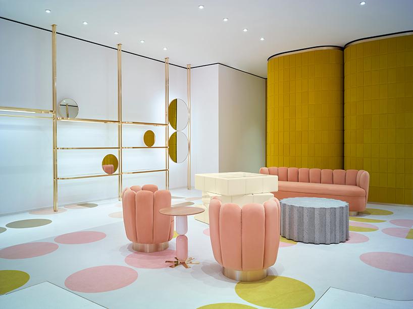 redvalentino 39 s flagship london store mindsparkle mag. Black Bedroom Furniture Sets. Home Design Ideas
