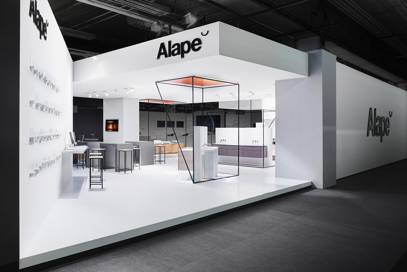 Exhibition Stand Design Materials : Alape exhibition design mindsparkle mag