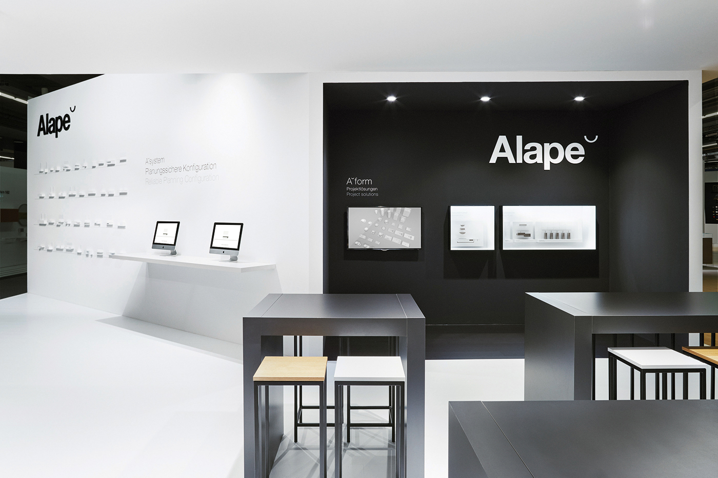Expo Stands Interior Office 2016 : Alape exhibition design mindsparkle mag
