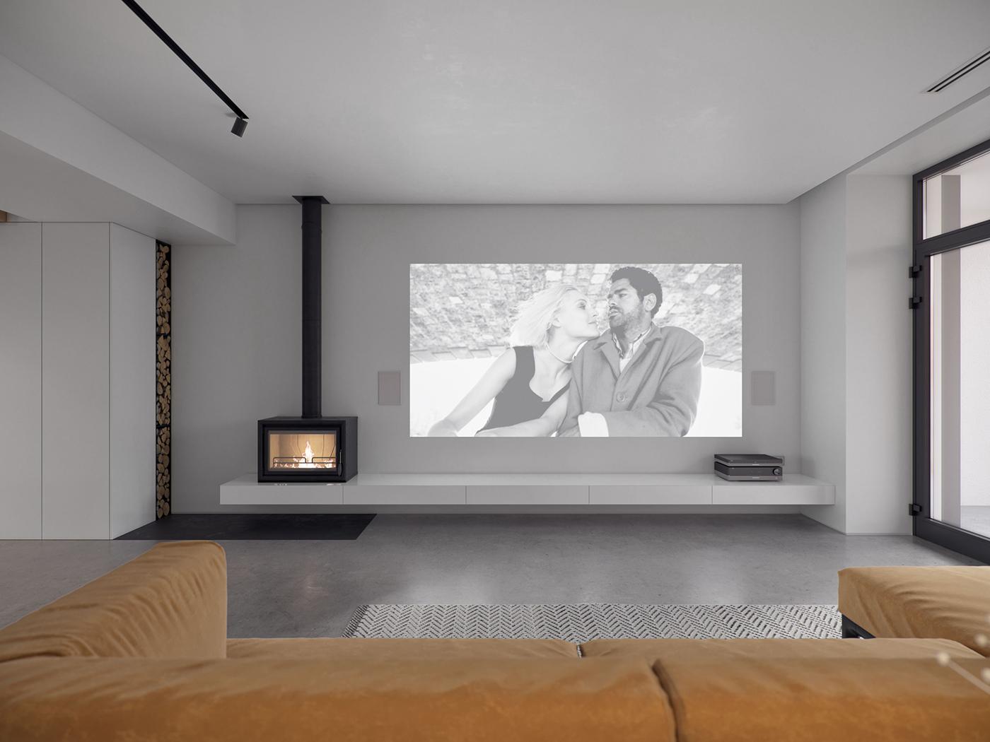 House r163 interior design mindsparkle mag for Minimal house interior