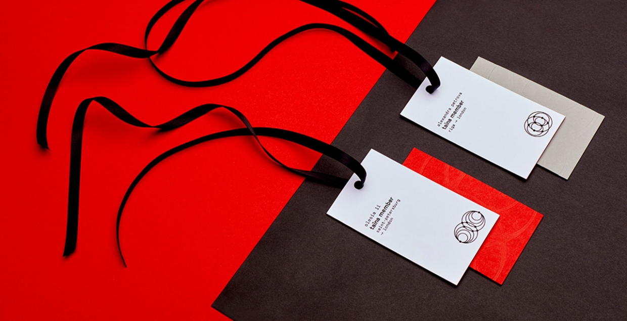 taina red branding print graphic design minimal logo corporate identity by olesia li mindsparkle mag