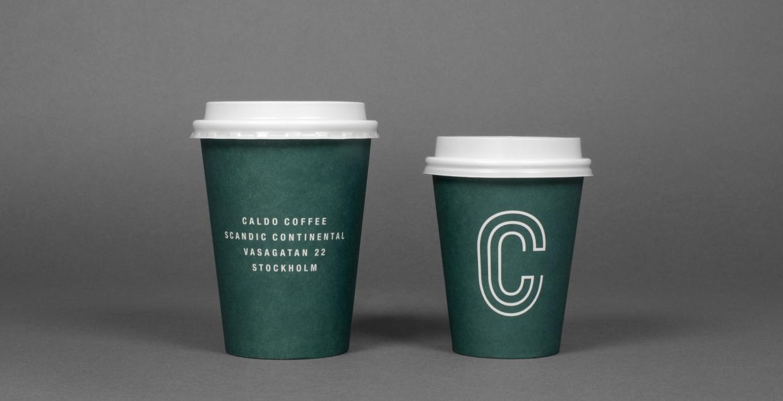 Caldo coffee logo branding corporte design sweden 25ah design studio mindsparkle mag