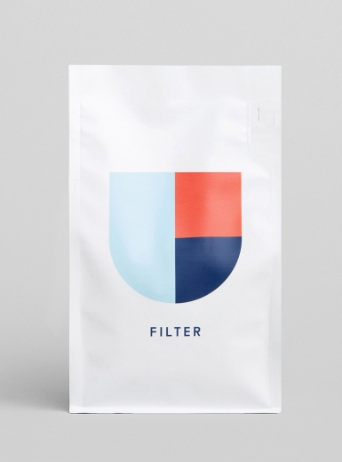 Deluca coffee branding packaging minimal corporate design by christopher and doyle mindsparkle mag
