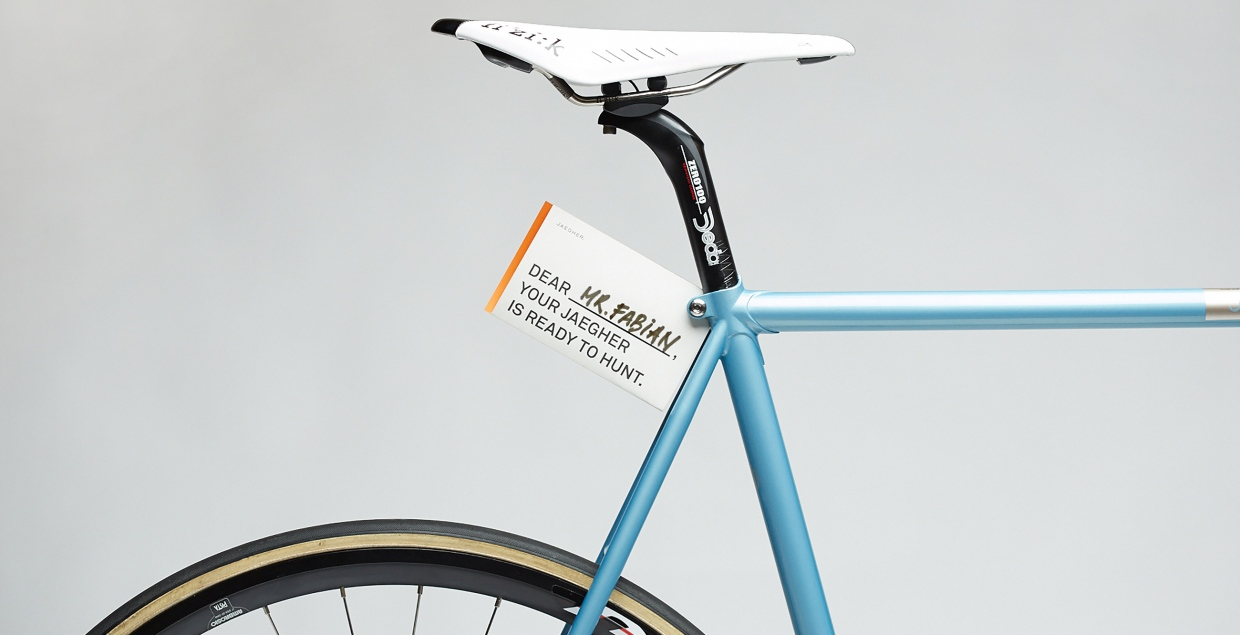 Jaegher – Airlight Steel Race Cycles rennrad bicycle minimal branding by jelle marechal mindsparkle mag