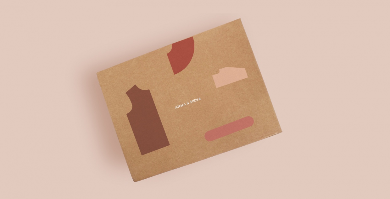 anna and siena branding cloth wear new minimal fashion style graphic design by alaa amra mindsparkle mag
