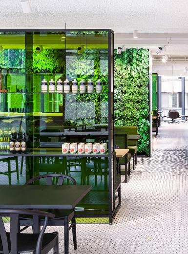 De Bijenkorf Design Restaurant architecture interior exterior design modern beautiful clean nordish by i29 interior architects Duivendrecht Netherlands Mindsparkle Mag