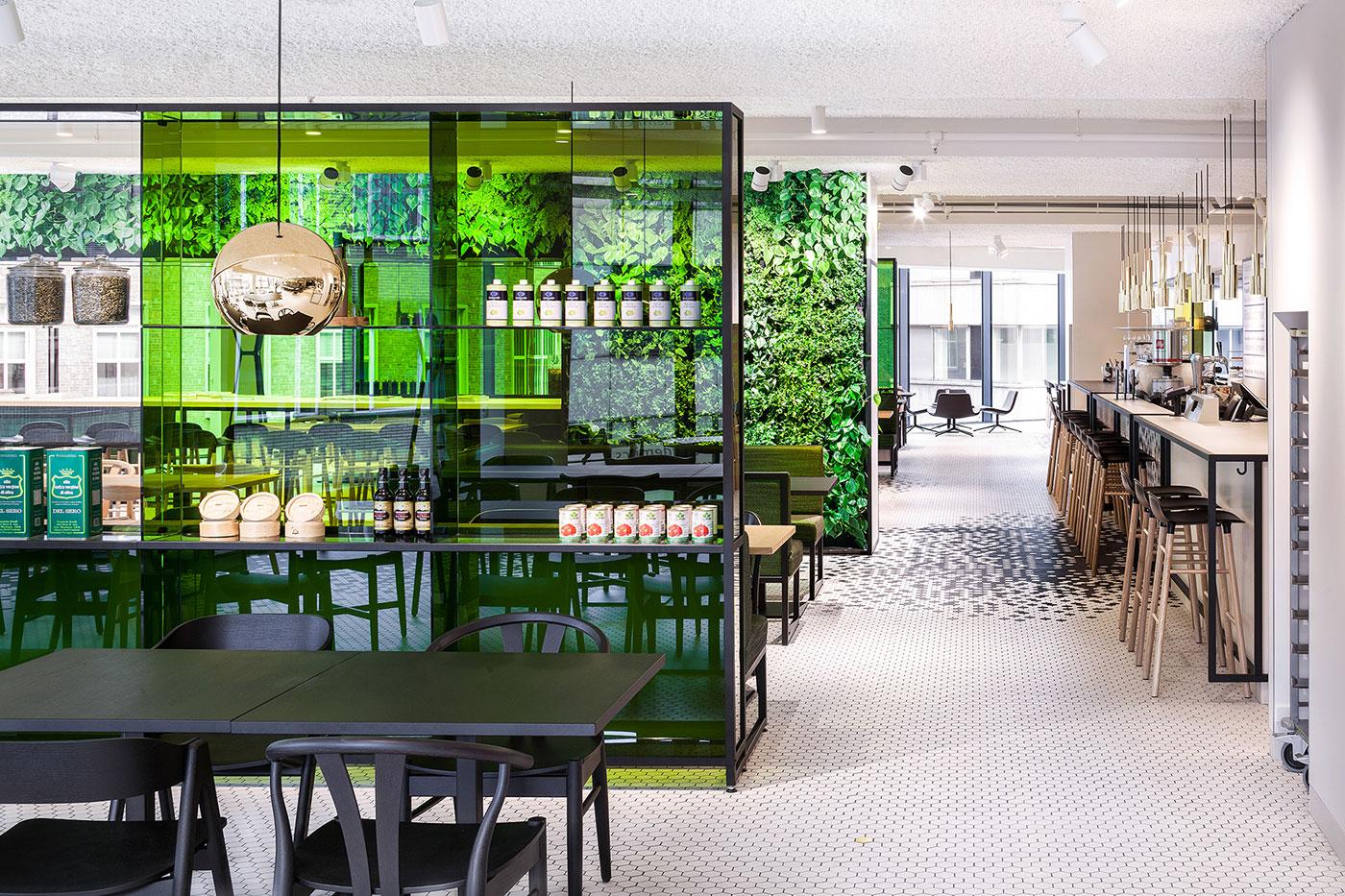 De bijenkorf design restaurant mindsparkle mag