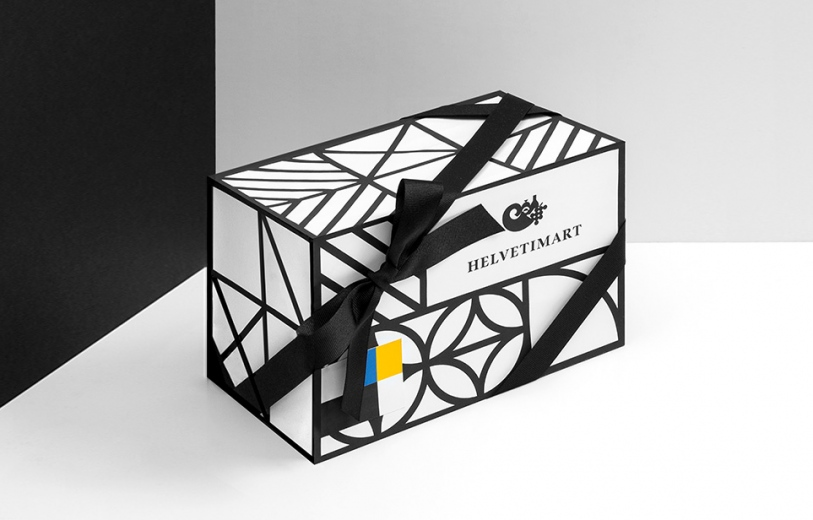 Helvetimart Branding Packaging Visual Identity Proposal Graphic Design unique Corporate by Anagrama Mindsparkle Mag