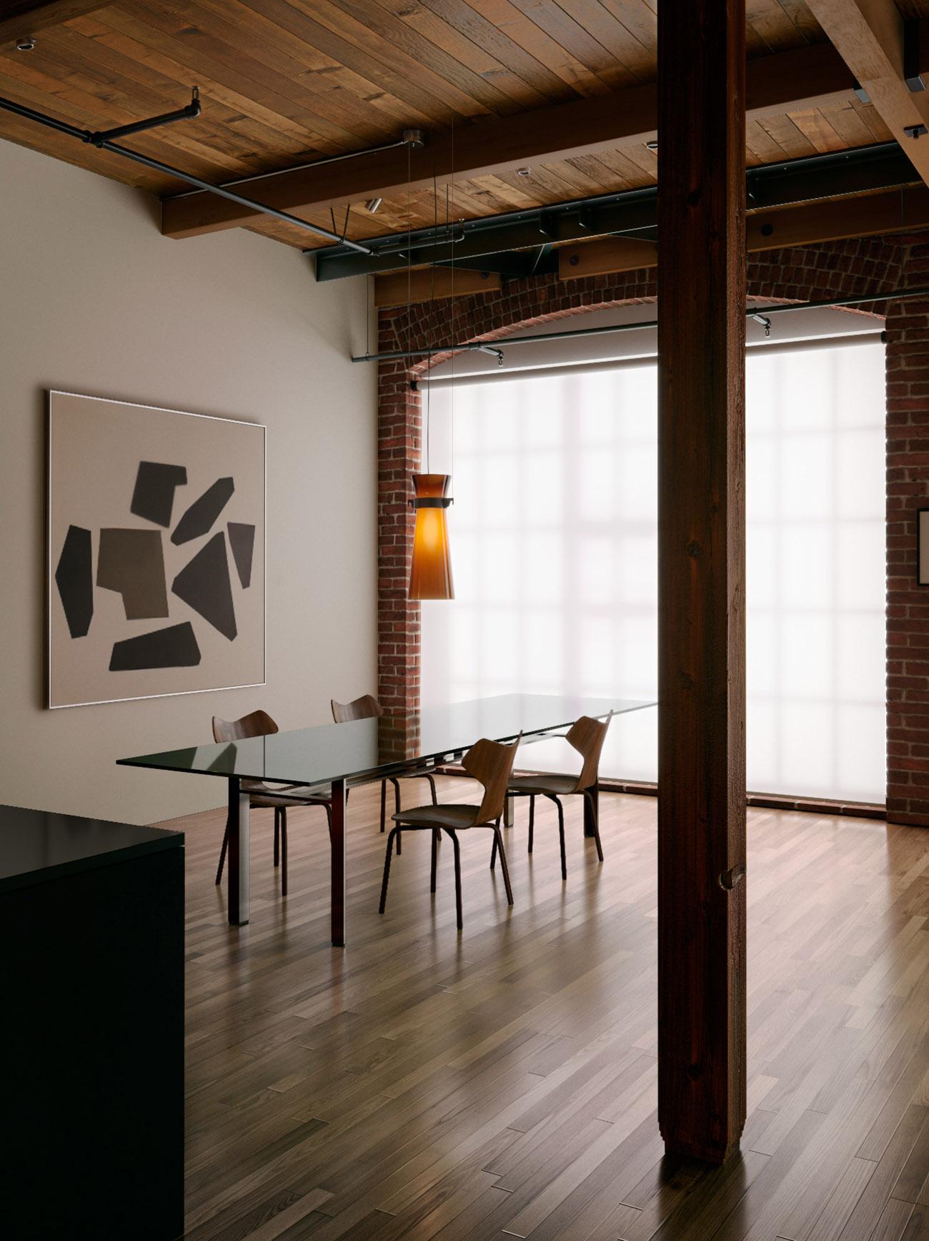 san francisco loft mindsparkle mag. Black Bedroom Furniture Sets. Home Design Ideas
