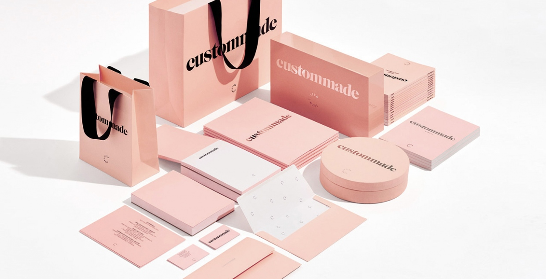 Visual Identity for Custommade Packaging Branding Graphic Design Corporate Design by Homework creative studio Copenhagen Denmark Mindsparkle Mag