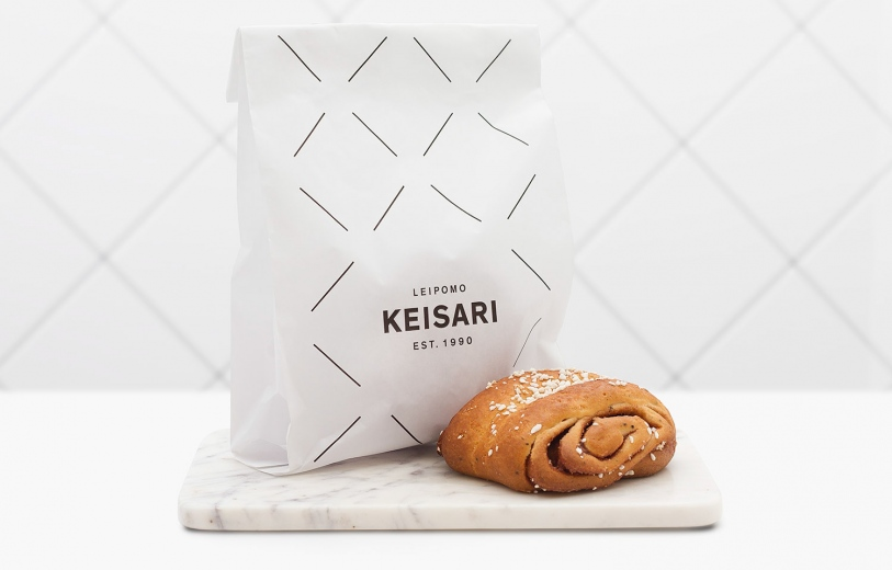 Keisari bakery beautiful branding corporate design identity graphic designer studio mindsparkle mag
