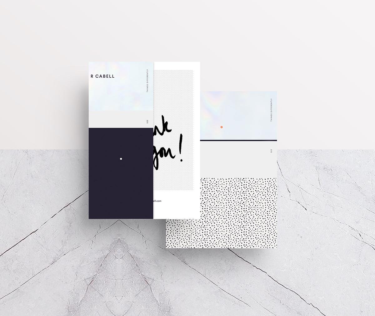 By Cabell Design Studio: Oliver Cabell Branding