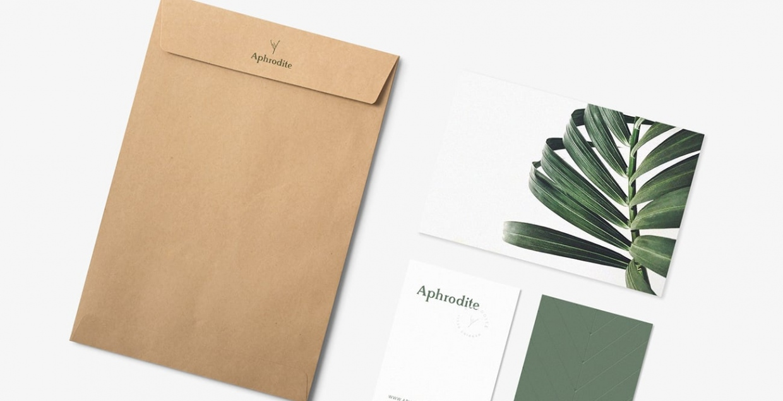 Aphrodite Wedding Dress Brand graphicdesign symboldesign logodesign visual identity by Eldur Ta Mindsparkle Mag