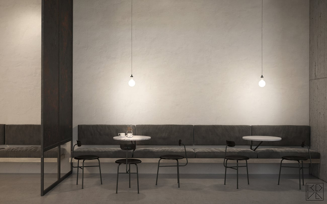 A Beautiful Mind Cafe Nowness interior ...