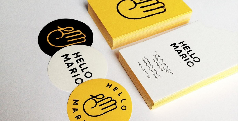Hello Mario Branding Visual Identity Graphicdesign Design Store Art Direction Corporate Design by min Barcelona Spain Mindsparkle Mag