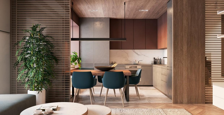 Heyhood interior design architecture design rendering furniture nice modern wooden by Espace Team Ukraine Mindsparkle Mag