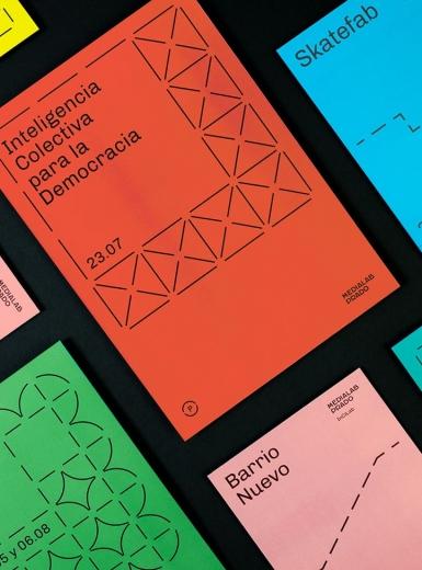 Medialab Prado Branding Digital Art Centre Visual Identity Grahic Design Art Direction by TataandFriends Studio Mindsparkle Mag