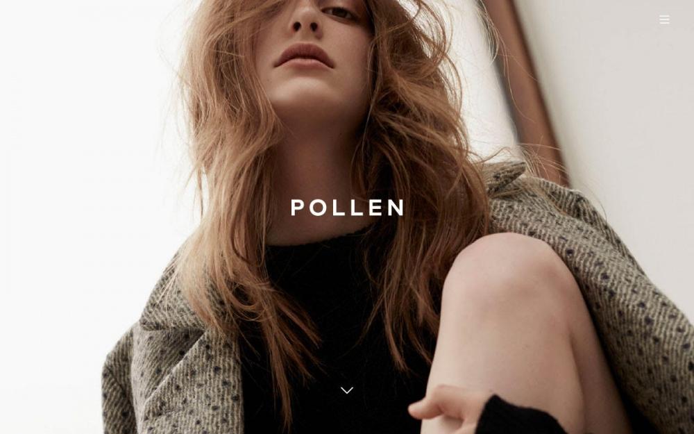 Pollen London creative agency designer design website web webdesign sotd online inspiration cool modern clean by Pollen London Mindsparkle Mag