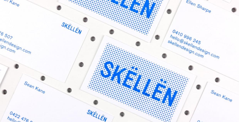 Skellen design posters Branding, Graphic Design designer experimental design printdesign screenprint by Sean Kane Australia Mindsparkle Mag