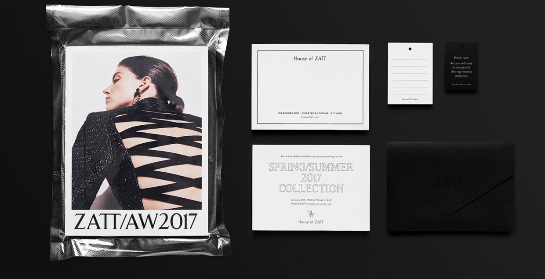House of Zatt Branding art direction fashion design visual identity brand Parametro Studio Mindsparkle Mag