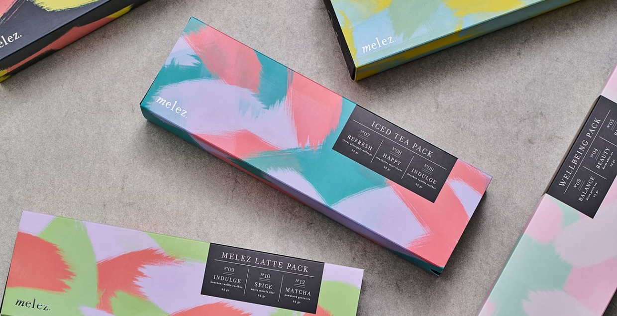 Melez Tea Packaging printdesign branding identity corporate design beautiful designer by Atelier Nese Nogay Mindsparkle Mag