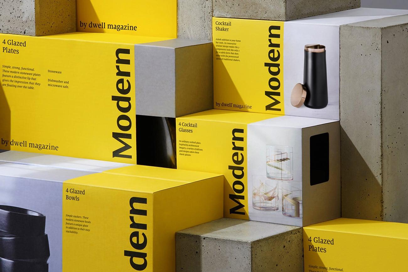 Modern by Dwell Magazine Identity - Mindsparkle Mag