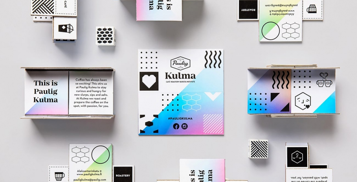 Paulig Kulma Branding visual identity brand graphic design designer cafe coffee roastery image nice cool by Bond Agency Mindsparkle Mag